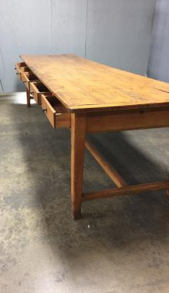 19th Century Large Size Pine Table - 1005081