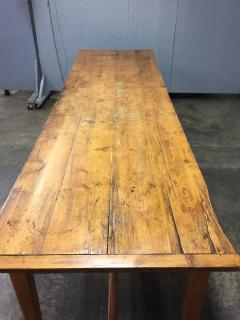 19th Century Large Size Pine Table - 1005082