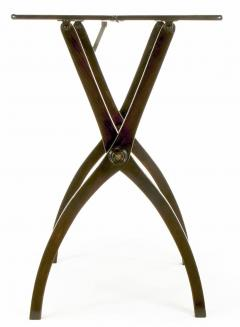 19th Century Mahogany Folding Coach Table - 72619