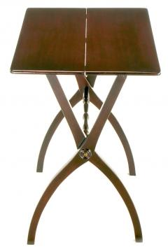 19th Century Mahogany Folding Coach Table - 72622