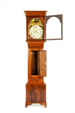 19th Century Mahogany Wood Long Case Clock - 1170327