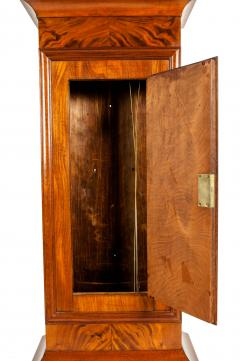 19th Century Mahogany Wood Long Case Clock - 1170329