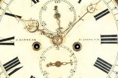 19th Century Mahogany Wood Long Case Clock - 1170332