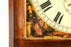 19th Century Mahogany Wood Long Case Clock - 1170333
