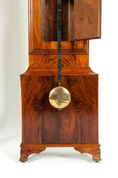 19th Century Mahogany Wood Long Case Clock - 1170334