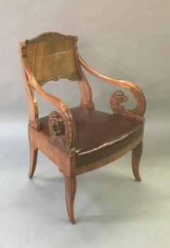 19th Century Neoclassical Russian Arm Chair - 622767