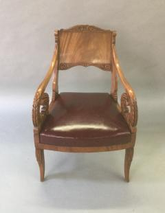 19th Century Neoclassical Russian Arm Chair - 622768