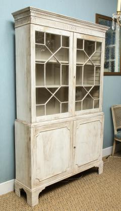 19th Century Painted English Cabinet - 1314834
