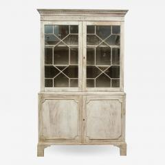 19th Century Painted English Cabinet - 1316914