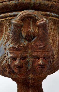 19th Century Pair of Iron Garden Urns - 222248