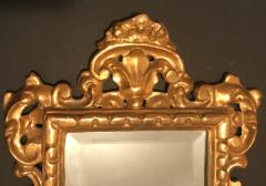 19th Century Pair of Venetian Hand Carved Gilded Mirrors Italy - 754776
