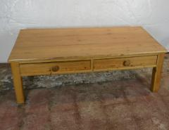19th Century Pine Coffee Table - 1132720