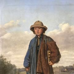 19th Century Portrait of a Country Boy Rodent Catcher - 1702703