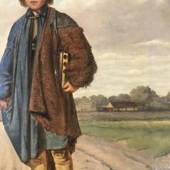 19th Century Portrait of a Country Boy Rodent Catcher - 1702705