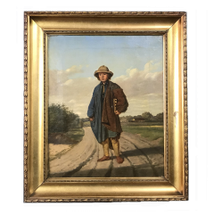 19th Century Portrait of a Country Boy Rodent Catcher - 1702727