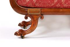 19th Century Regency Gilt Brass Mounted Rosewood Sofa - 1576039