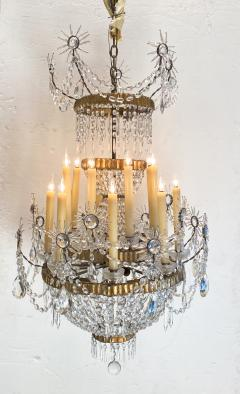19th Century Russian Crystal Chandelier - 1372596