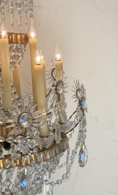 19th Century Russian Crystal Chandelier - 1372597