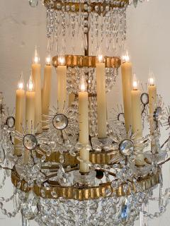 19th Century Russian Crystal Chandelier - 1372600