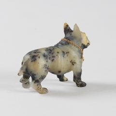 19th Century Sculpture of a French Bulldog - 906127