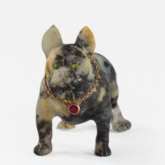 19th Century Sculpture of a French Bulldog - 907613