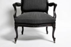 19th Century Set of Four Louis XV Style French Armchairs - 666542