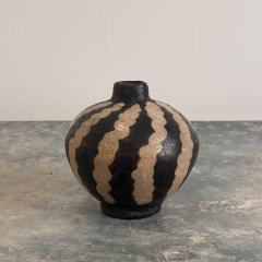 19th Century Small Vase Slip Decorated Vase - 1623890