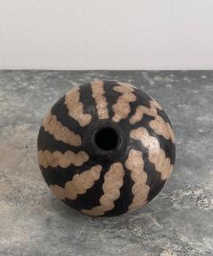 19th Century Small Vase Slip Decorated Vase - 1623893