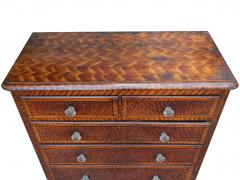 19th Century Sponge Painted Chest - 824552
