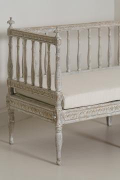 19th Century Swedish Gustavian Period Sofa Bench - 1026750