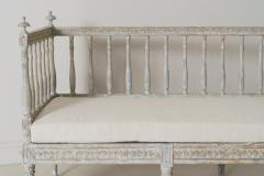 19th Century Swedish Gustavian Period Sofa Bench - 1026753