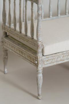 19th Century Swedish Gustavian Period Sofa Bench - 1026757