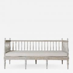19th Century Swedish Gustavian Period Sofa Bench - 1059387