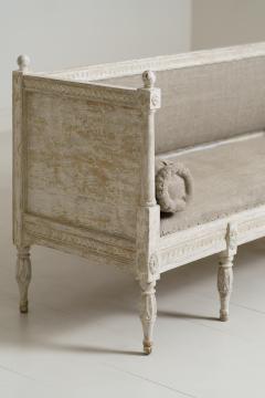 19th Century Swedish Gustavian Period Sofa Bench - 1026761