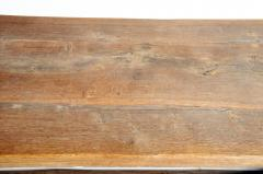 19th Century Swiss Oakwood Farm Table - 1194412