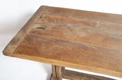 19th Century Swiss Oakwood Farm Table - 1194421