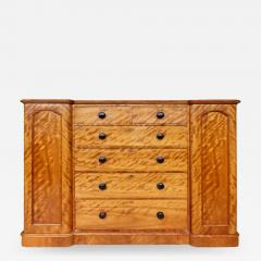 19th Century Tall Maple Biedermeier Dresser - 1122646
