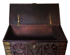 19th Century Teak Brass Studded Zanzibar Chest - 1040846
