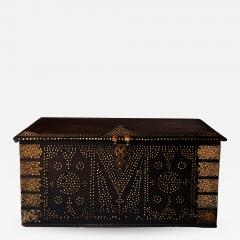 19th Century Teak Brass Studded Zanzibar Chest - 1042182