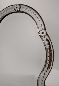 19th Century Venetian Wall Table Top Mirror - 1583261