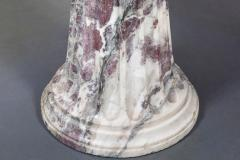 19th Century Vibrant Speciman Marble Garden Table - 1417450