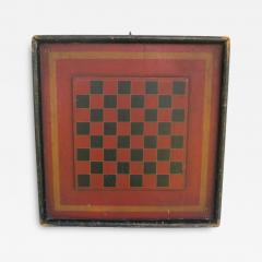 19th Century Wood Double Sided Game Board - 142369