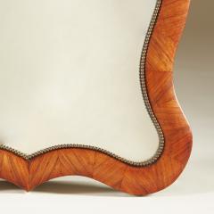 19th Century decorative walnut dressing table mirror - 1964511