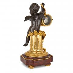19th Century ormolu and marble mantel clock - 1255951