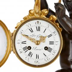 19th Century ormolu and marble mantel clock - 1255953