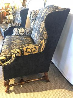 19th Early 20th Century Settees Canapes Rococo Style in Fine Fabric - 1462691
