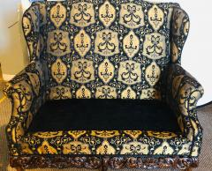 19th Early 20th Century Settees Canapes Rococo Style in Fine Fabric - 1462693