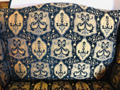 19th Early 20th Century Settees Canapes Rococo Style in Fine Fabric - 1462694