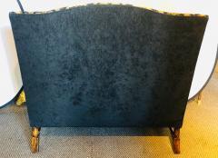 19th Early 20th Century Settees Canapes Rococo Style in Fine Fabric - 1462695