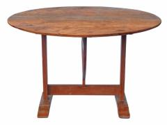 19th c French Wine Tasting Table - 1893232
